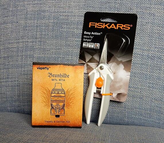Brunhilde & Fiskars