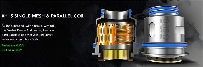 H15 Dual Coil