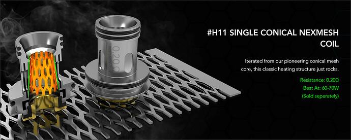 H11 Mesh Coil