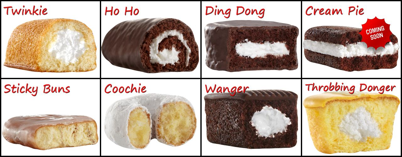 Dirty Cakes from Hostess